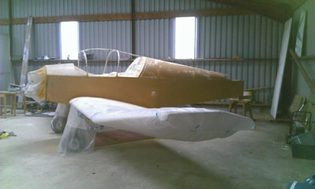 Slef Build Wooden Aircraft